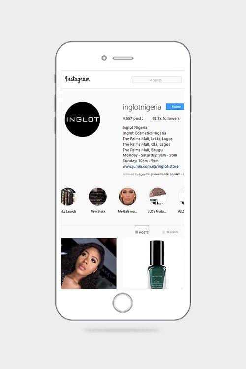 Inglot Cosmetic Nigeria