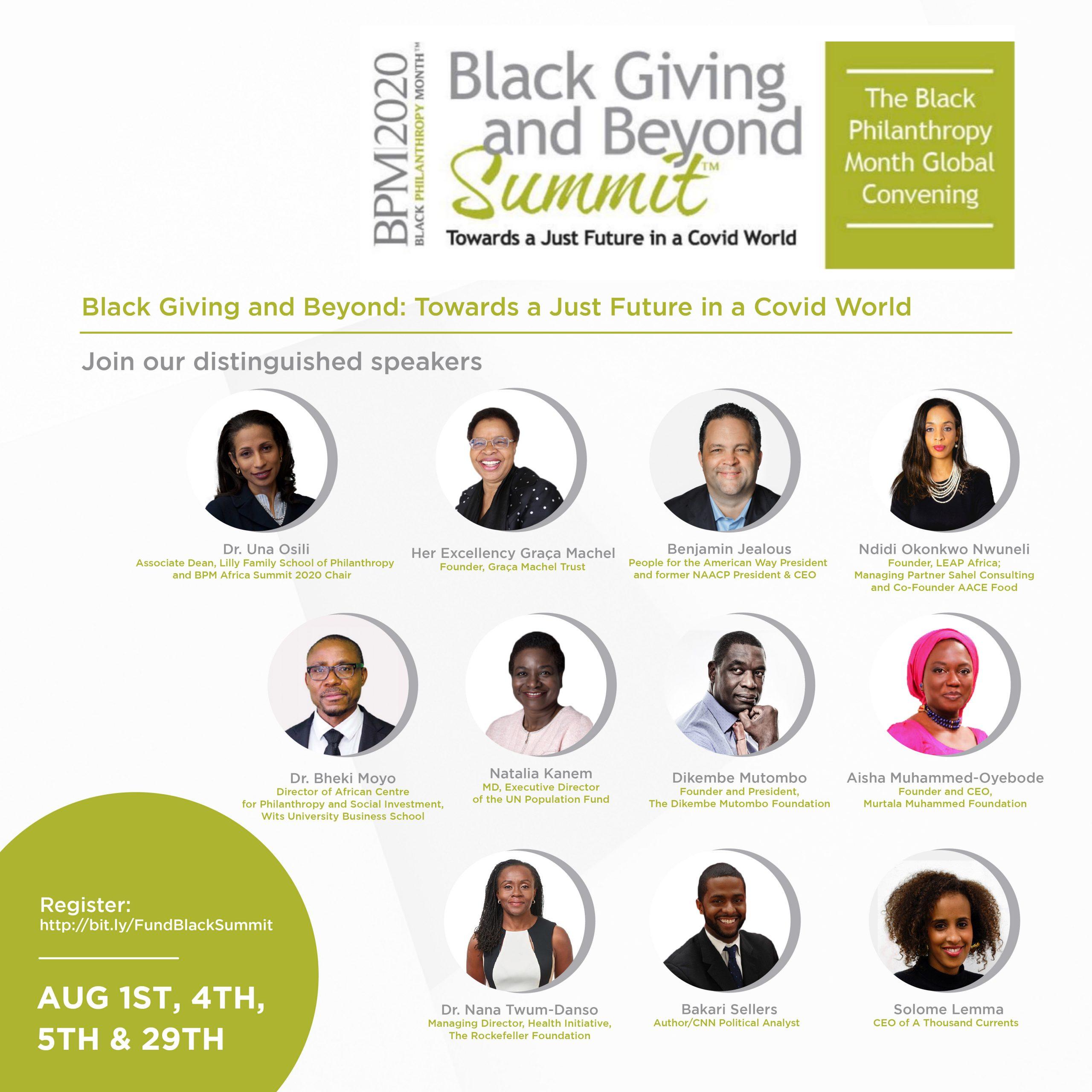 Black Philanthropy Summit.